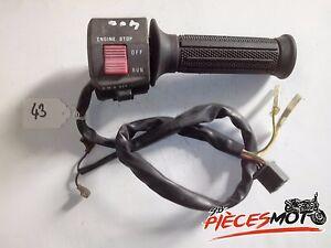 Commodo-droit-Poignee-gaz-Accelerateur-SUZUKI-GSF-400-BANDIT
