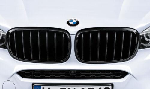 BMW GENUINE X5 F15 X6 F16 M Performance Avant Rein Grill Set 51712334710//708