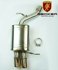 BECKER Axle Exhaust For 2004 To 2010 BMW 5 Series E60 525 528 530 535