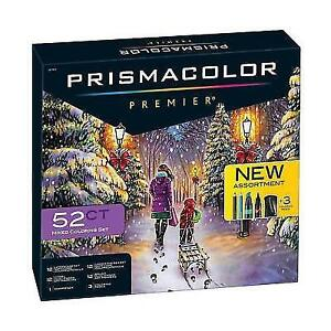 52 Ct Prismacolor Colored Pencils & Art Markers Premier Mixed ...
