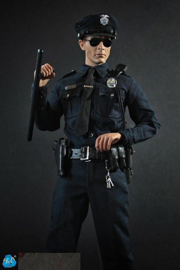 DID MA1009 1 6 Scale LAPD Patrol Police Austin Action Figure Toy