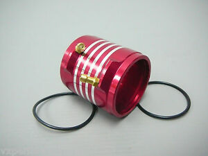Red Alloy Water Jacket 36 Series 3650 3660 BL Motor L 45mm ID 36mm Boat Cooling