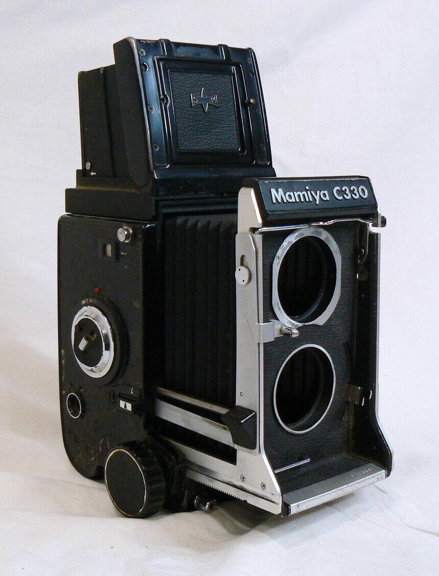 Cámara fotográfica Profesional MAMIYA C330 TLR Reflex