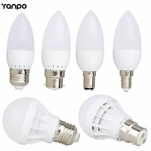 B22-E27-E14-B15-Ampoule-LED-globe-Bougie-3W-5W-7W-9W-12W-5730-Smd