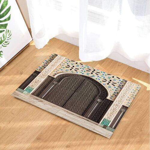 Modern Art Painting Print Bath Mat Non Slip Flannel Shower Rug Floor Door Mat