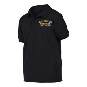 Military Iraqi Freedom Veteran Polo Shirt