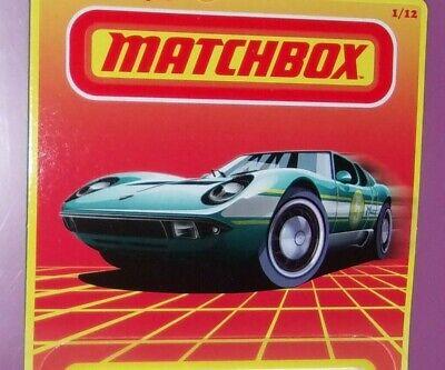 Matchbox 2020 Retro Lamborghini Mustang Mercedes Chevy Land Rover Jeep  U CHOOSE