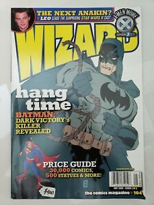 WIZARD-Comics-Magazine-104-May-2000-BATMAN-DARK-VICTORY-COVER-by-TIM-SALE