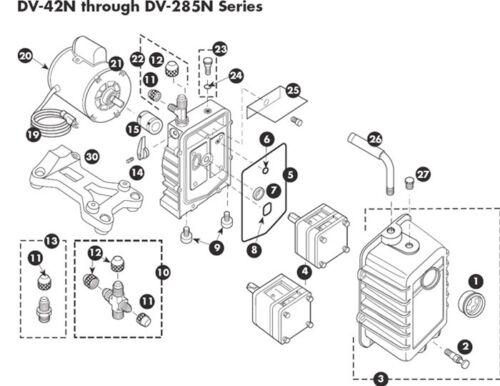 PR-3 JB Vacuum Pump Main Shaft Seal Part No