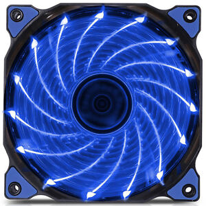 120mm-LED-Ultra-Silent-Computer-PC-Case-Fan-15-LEDs-12V-Easy-Installed-ProAW