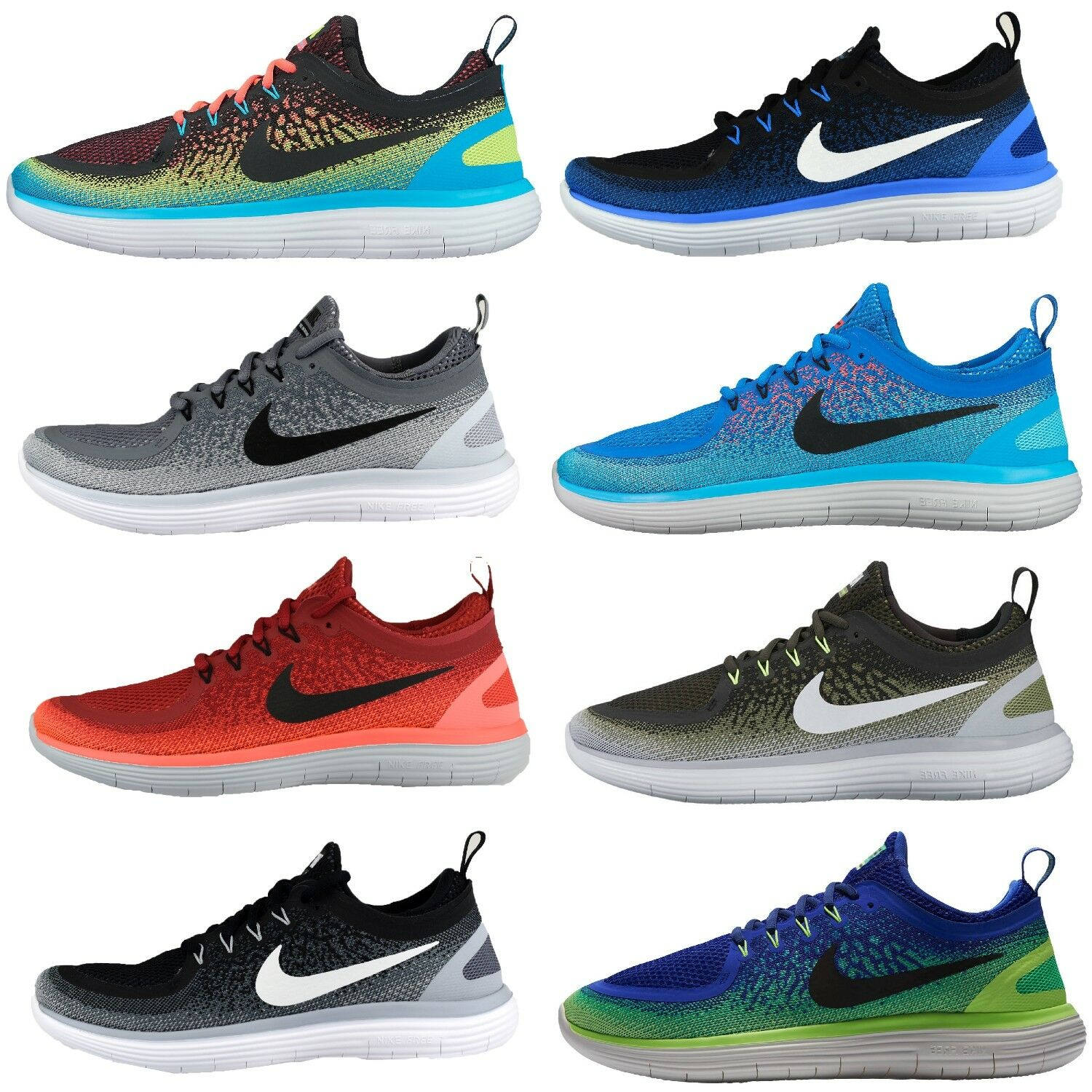 Nike Running Free distance 2 shoes Sport Sneakers Textile
