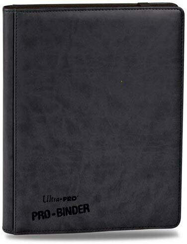 Ultra Pro 9 Pocket Black Pro-Binder holds 360 Magic Pokemon cards in sleeves