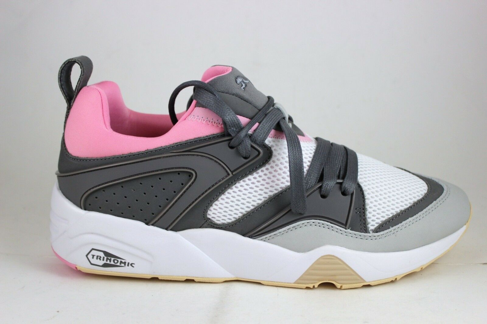 hommes Puma Blaze of Glory Solebox gris Violet Steel 364915 01 New In Box