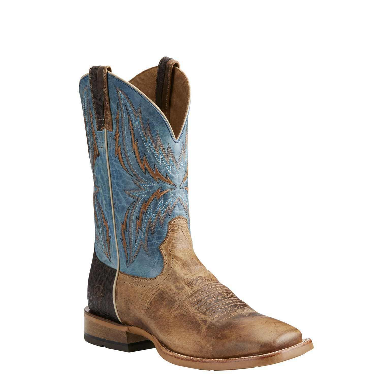 Ariat® Men's Arena Rebound Dusted Wheat & Heritage bluee Boots 10021679