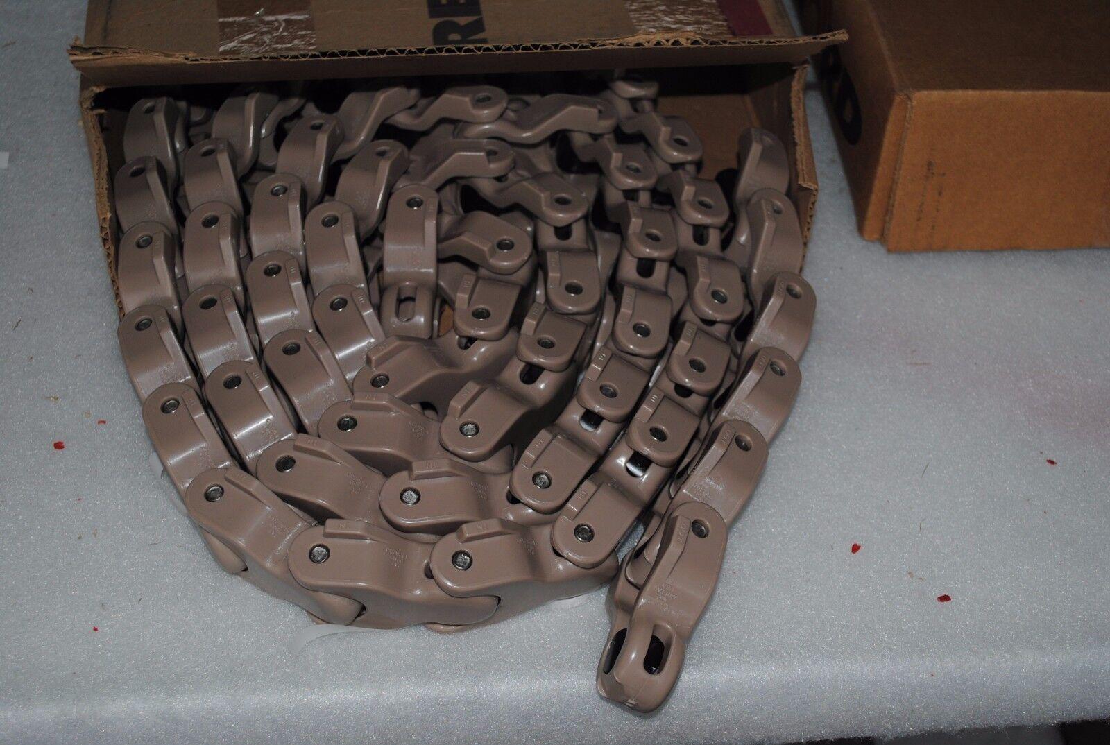 Rexnord Tabletop chain/förderkette m) lf1701tab (10 ft = Environ 3 m) chain/förderkette 7240e5