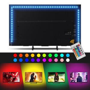 50-500cm-5V-LED-Light-Strip-60LED-m-TV-Backlight-Bias-Lighting-USB-Flexible