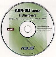 Asus A8n-sli A8n-sli Premium Motherboard Drivers Installation Disk M618