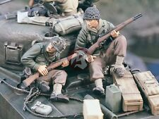 Verlinden 1/35 US Tank Riders with Rifles in Hand WWII Set No.2 (2 Figures) 1686