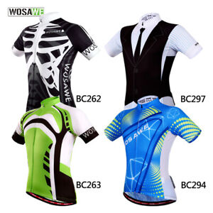 Men-039-s-MTB-Cycling-Jersey-Team-Road-Bike-Riding-Short-Sleeve-Tops-Quick-Dry-Gifts