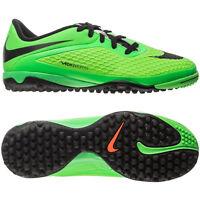 Nike Hypervenom Tf Phelon Turf 2013 Soccer Shoes Lime Green Kids - Youth