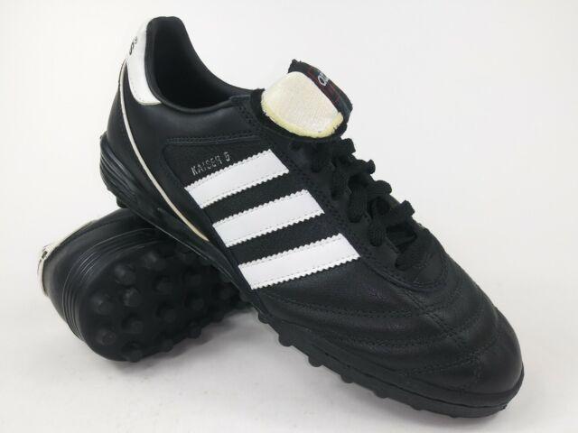 ankommen beliebt kaufen weltweite Auswahl an Adidas Mens Rare Kaiser 5 Team Turf 677357 Black White Soccer Shoes Size 12