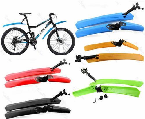 Mountain Bike Dovetail  Mudguard Fenders Set Mudguard Front Rear Practical LS