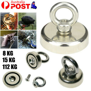 15/112Kg Salvage Strong Recovery Magnet Hook Treasure Hunting Fishing