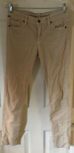 CITIZENS-OF-HUMANITY-beige-Corduroy-Avedon-Low-Rise-Skinny-Leg-Jeans-Pants-Sz-28