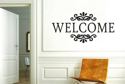Welcome Sign Wall Stickers Vinyl Art Decals