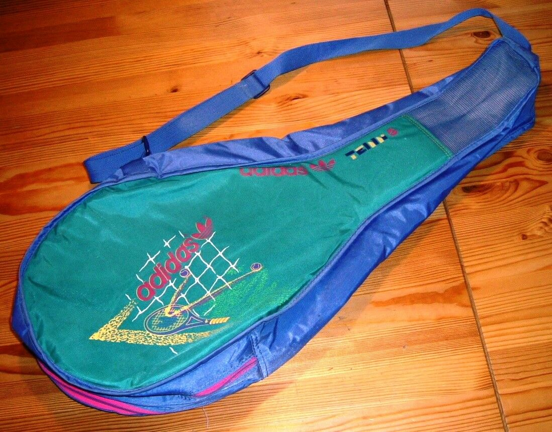 Racchette da tennis Adidas Borsa Sportiva Borsa Steffi Graf vintage per mazza da 2