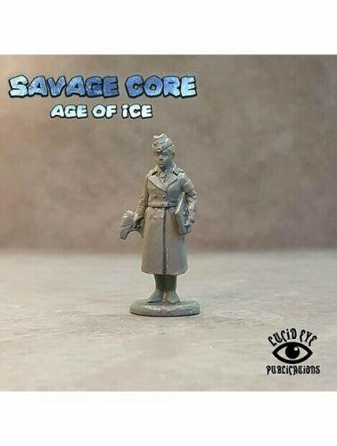 Savage Core Age Of Ice Projekt Sturm Agent Roth Miniature Figure Lucid Eye Nazi