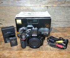Nikon D5200 24.1MP Digital SLR Camera - Black (Body Only) 6620 SHUTTER COUNT