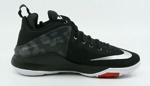premium selection 8b4ee 79849 Image is loading Nike-Zoom-Witness-Black-Mens-Basketball-Shoes-Size-