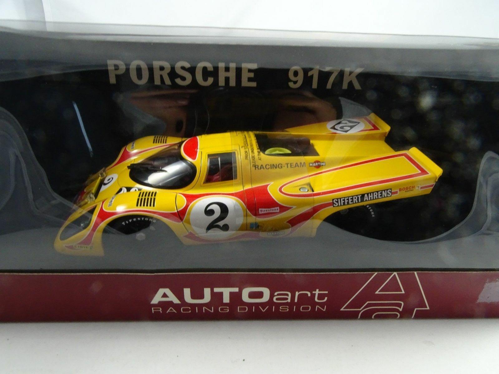 en linea 1 18 18 18 Autoart  80035 Porsche 917K Siffert Ahrens Martini Racing Team  2 Nuevo    tienda en linea