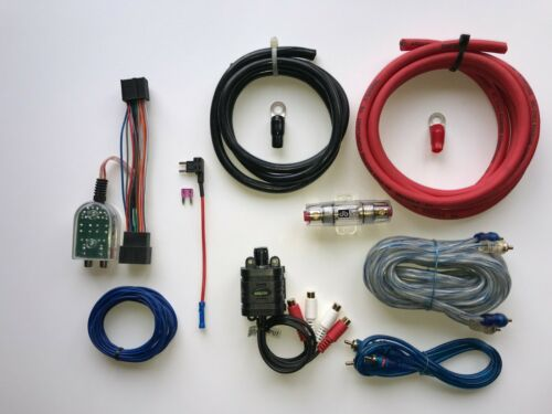 Chevy GMC Cadillac Factory Radio Add A Subwoofer Amplifier Plug /& Play Harness