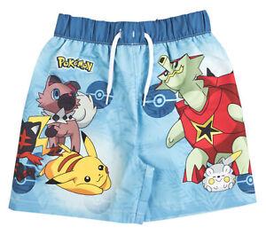 71e79dabc9 Details about Pokemon Swim Shorts Pikachu Summer Board Swimming Shorts  Trunks Swimwear Size