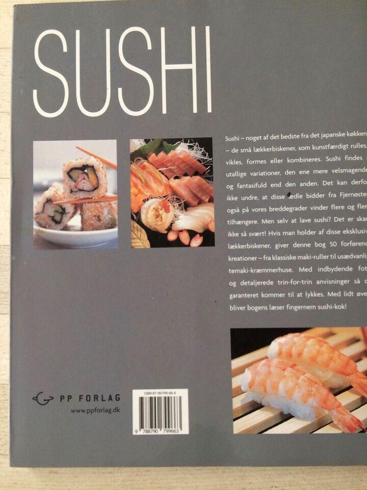 Sushi, Inge Bielefeldt oversætter, emne: mad og vin