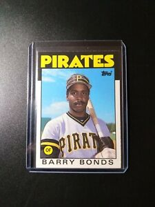 1986 Topps Traded Barry Bonds Rookie Card