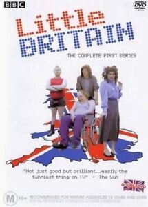Little-Britain-Series-1-DVD-2004-2-Disc-Set-R4-Terrific-Condition