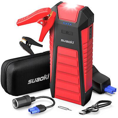 SUAOKI U27 Starthilfe Powerbank 2500A 25000mAh  Starthilfe für 12V Fahrzeug Gas