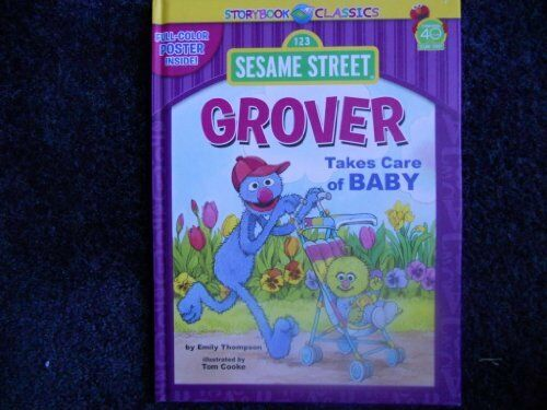 Sesame Street Grover Takes Care Of Baby By Emily Thompson Includes