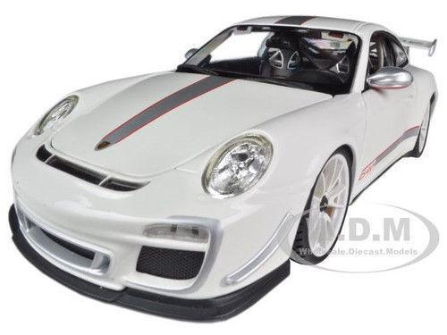 1 18 Bburago Porsche 911 Gt3 Rs 4.0 4.0 4.0 blancoo 6c16a6