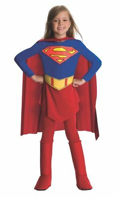 Child Toddler Supergirl Costume Deluxe Girls Superhero 882314