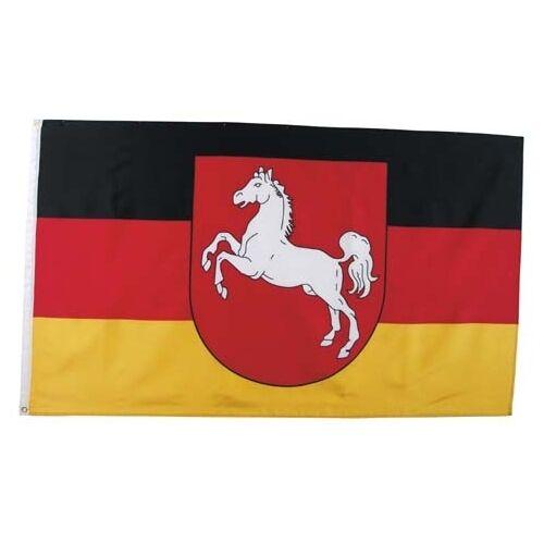 Fahne Niedersachsen Polyester Gr. 90x150 cm, mit Verstärkungsband