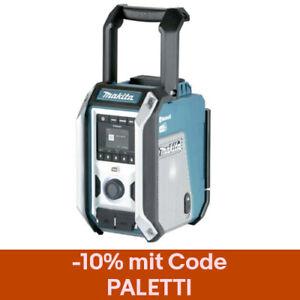 Makita Akku Baustellenradio DMR 115 DAB-DAB+ Bluetooth 10,8–18V/230V Soundbox