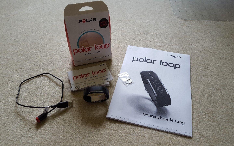 POLAR Activity Tracker Loop  in schwarz schwarz schwarz 19cc5b