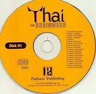 Thai for Beginners by Benjawan Poomsan Becker (CD-Audio, 2004)