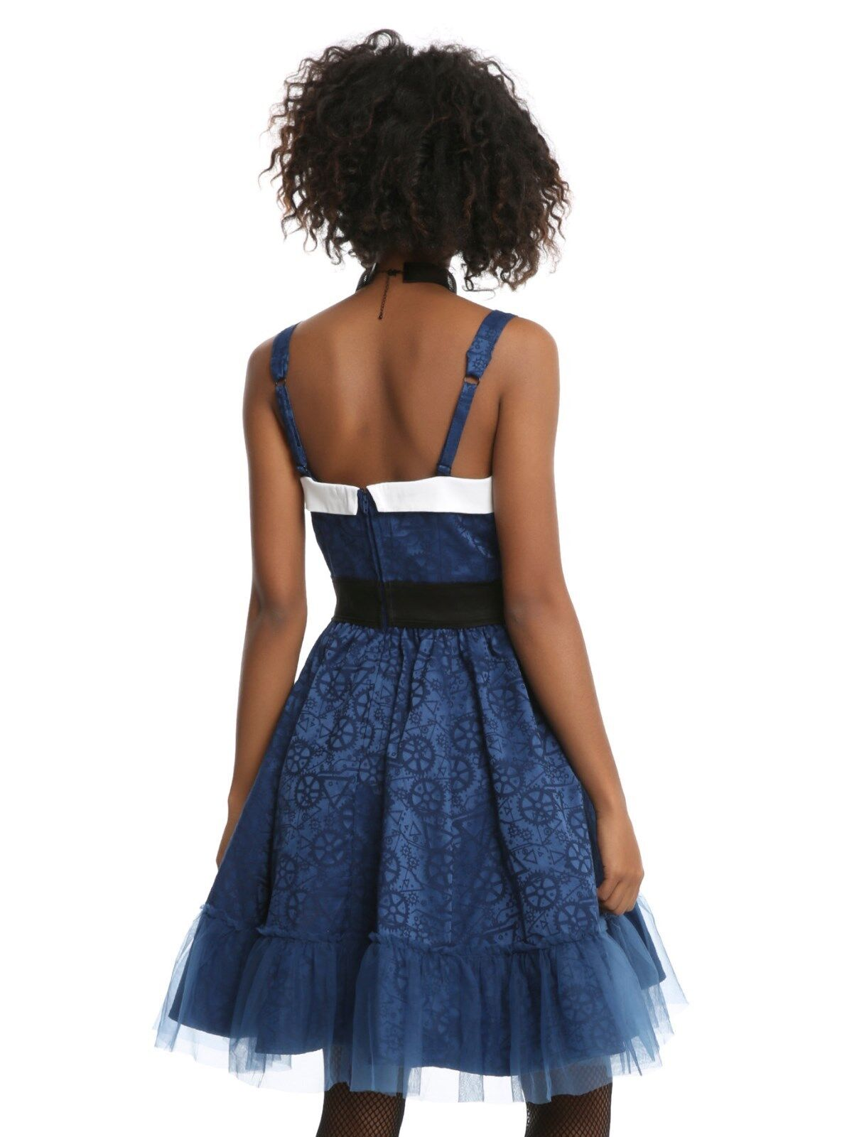 BBC Doctor Dr Who Tardis Public Call Box Fit Fit Fit Flare Cosplay Dress JUNIORS MEDIUM 26d4c5