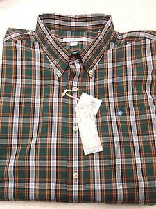 Southern-Tide-Cotton-Blend-Green-Plaid-Skipjack-Sport-Shirt-NWT-XL-99-50