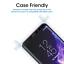 Samsung-Galaxy-S9-protector-de-pantalla-de-vidrio-templado-curvado-amfilm-3D-1-Pack miniatura 5